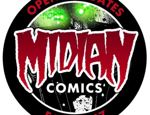 Domenica 29/10/ 2017 MIDIAN Comics Event a Piacenza