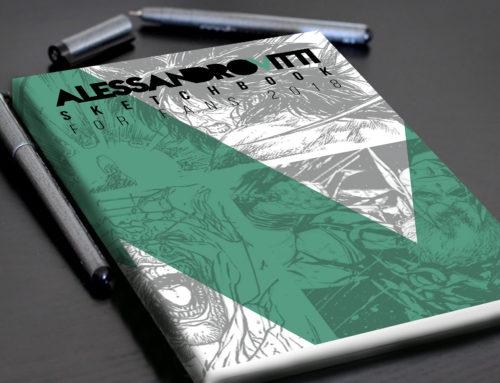 Il mio nuovo SketchBook e il PARIS Manga & SciFi Expo 2018